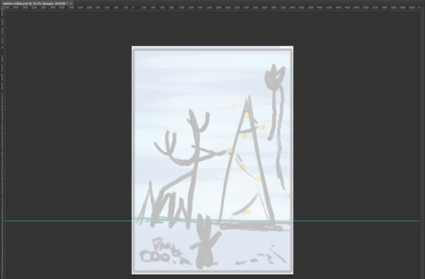 Lower Opacity of Thumbnail and Add Guide Horizon