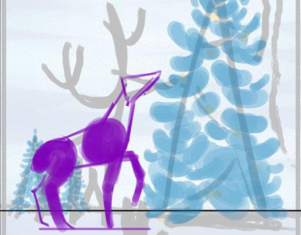 Rough deer