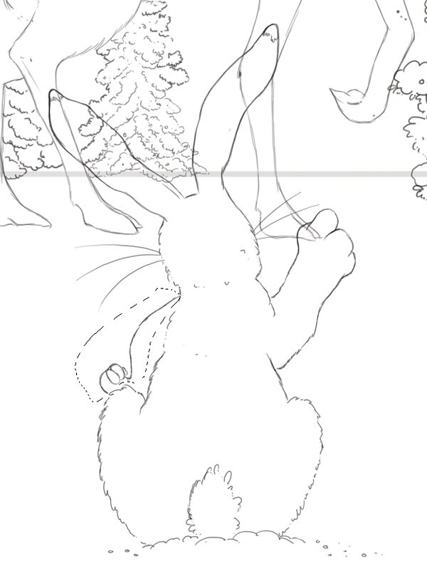 Adjust hare arm