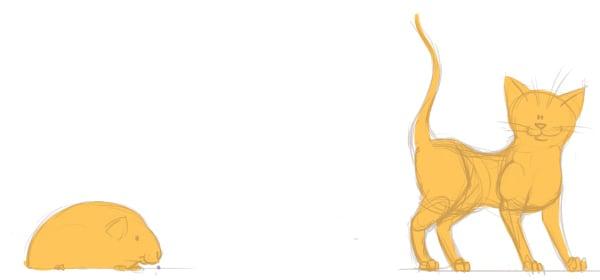 Guinea Pig and Cat Base Flats