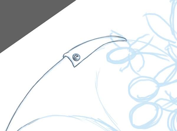 Bum Flap Detailing