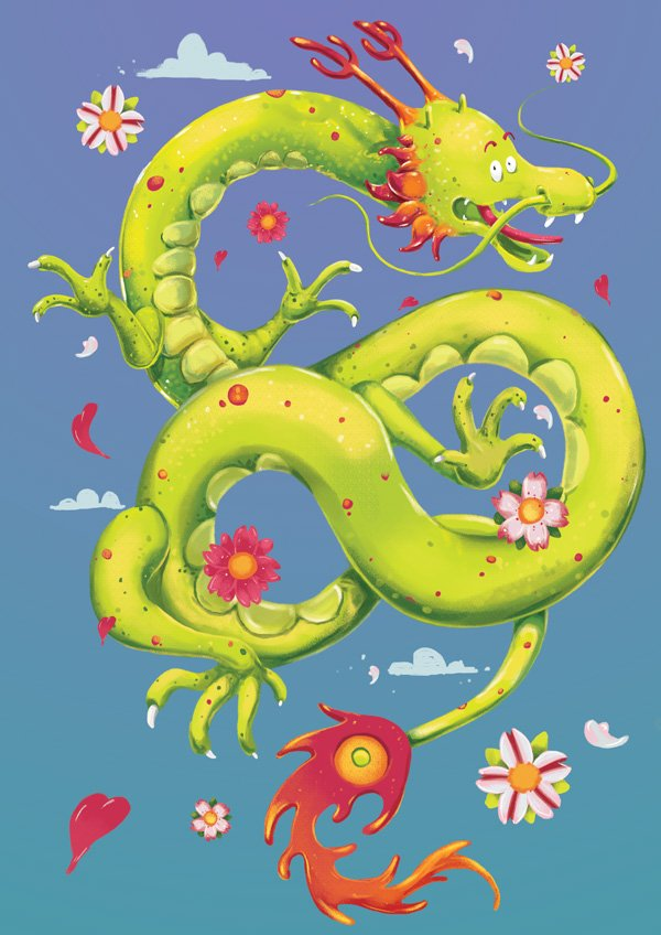 Chinese Dragon - No Depth of Field