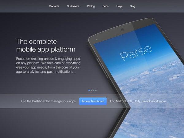 Parsecom website