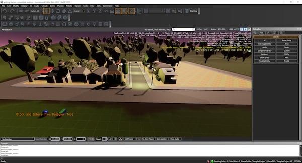 A Small 3D Village