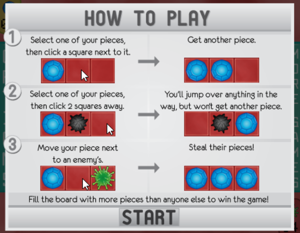 Infected tutorial image