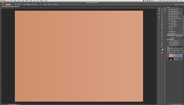 Make a gradient across the whole layer