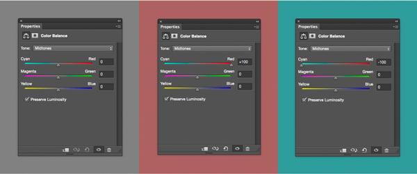 Use the Colour Balance dialogue