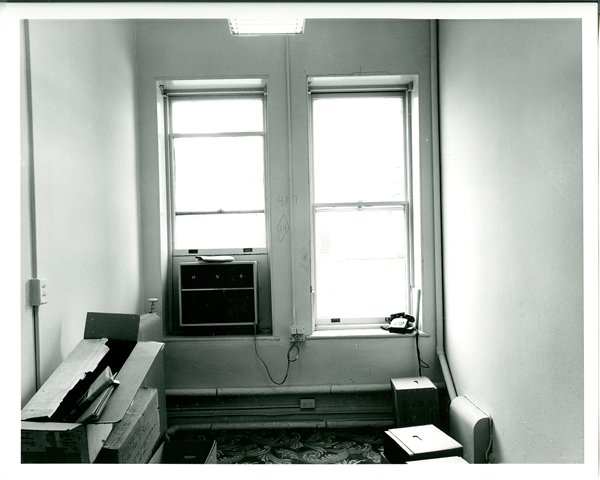 Office used in the 1970s at Smithsonian Archives