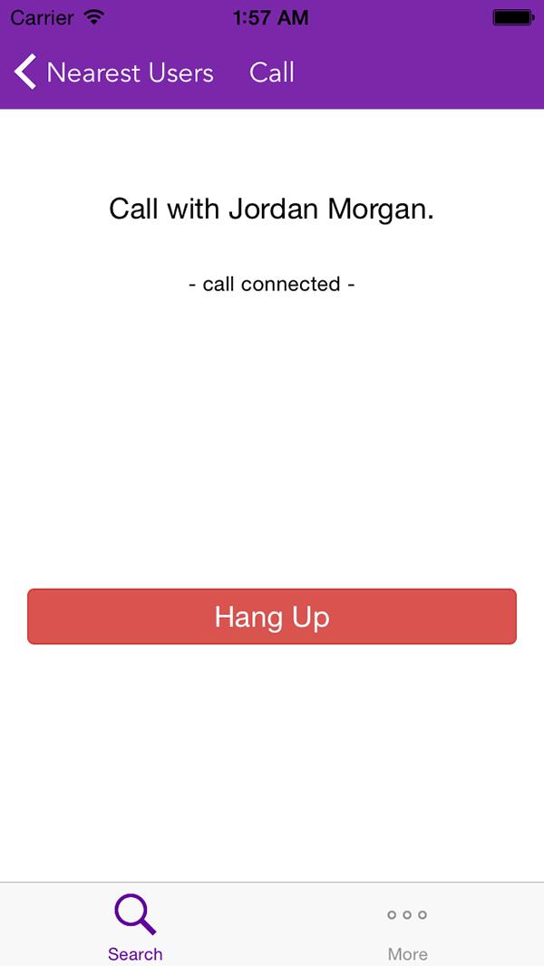 A Call in Progress