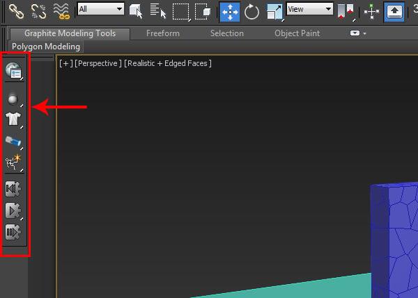 massfx toolbar