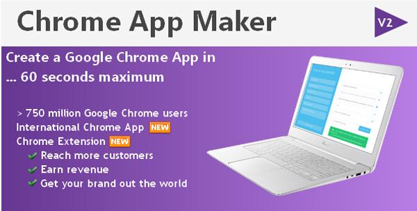 Chrome App Maker on Envato Market