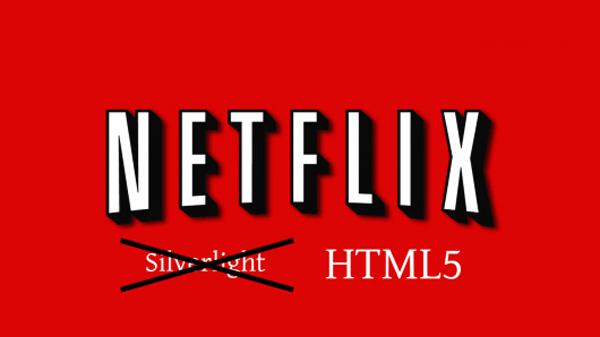 Netflix video using HTML5