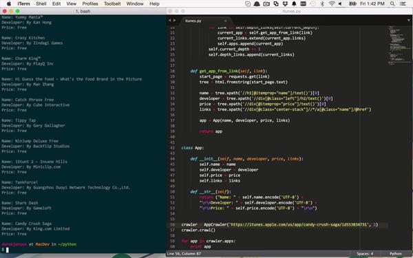 Python web crawler