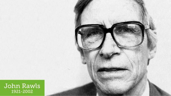 Photo of the philosopher John Rawls 1921 to 2002