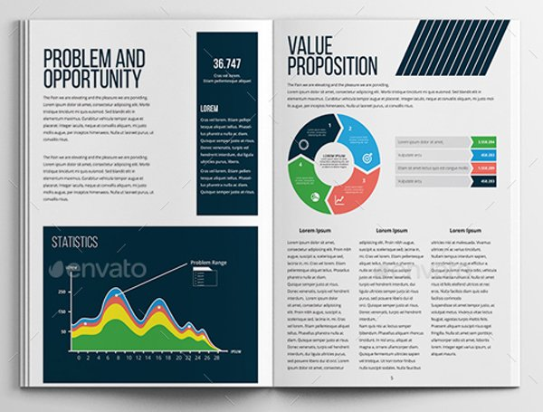 Business Plan template from Envato Market