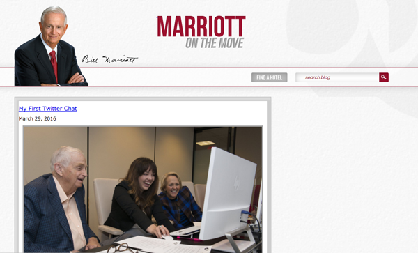 Marriott on the Move