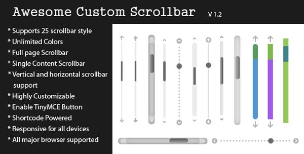 Awesome Custom Scrollbar
