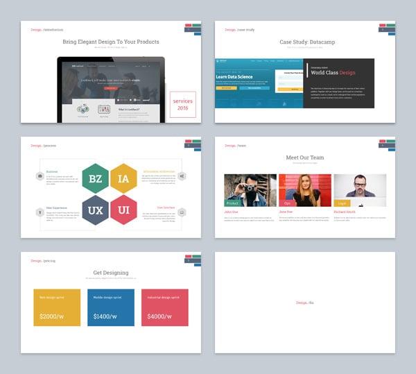 presentation keynote design