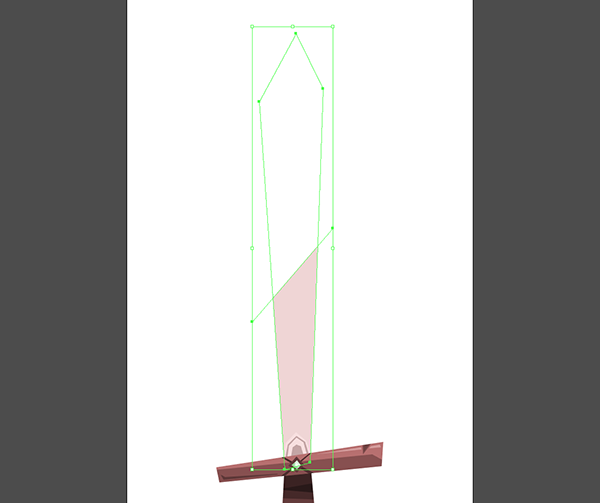 sword blade first highlight unmasked