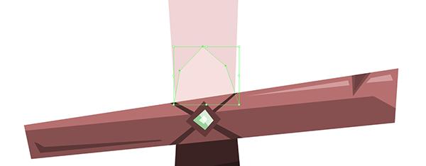 sword blade shoulder basic shape