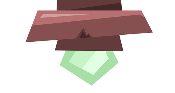 bottom gem stone highlight