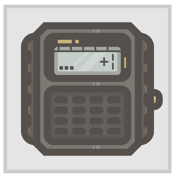 adding the golden button to the watch icon