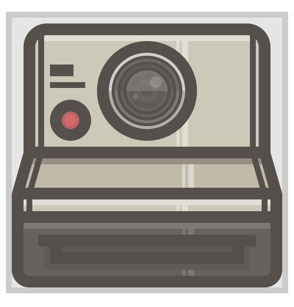 adding the red button to the camera icon