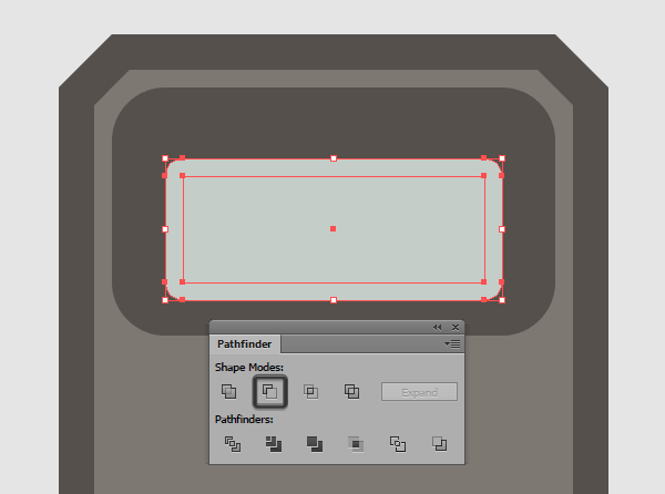 creating the watch screens inner shadow