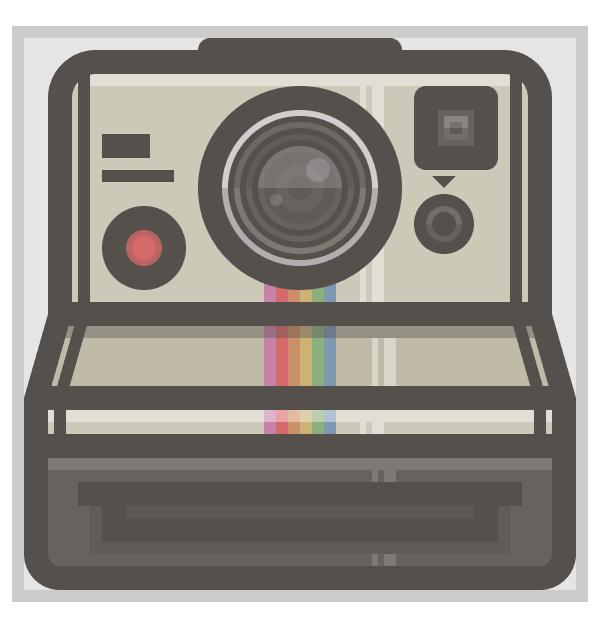 polaroid camera icon finished