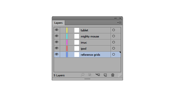 layering the document