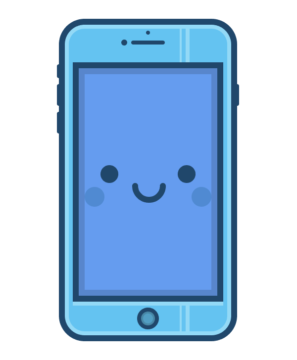 adding the shadows to the phones body