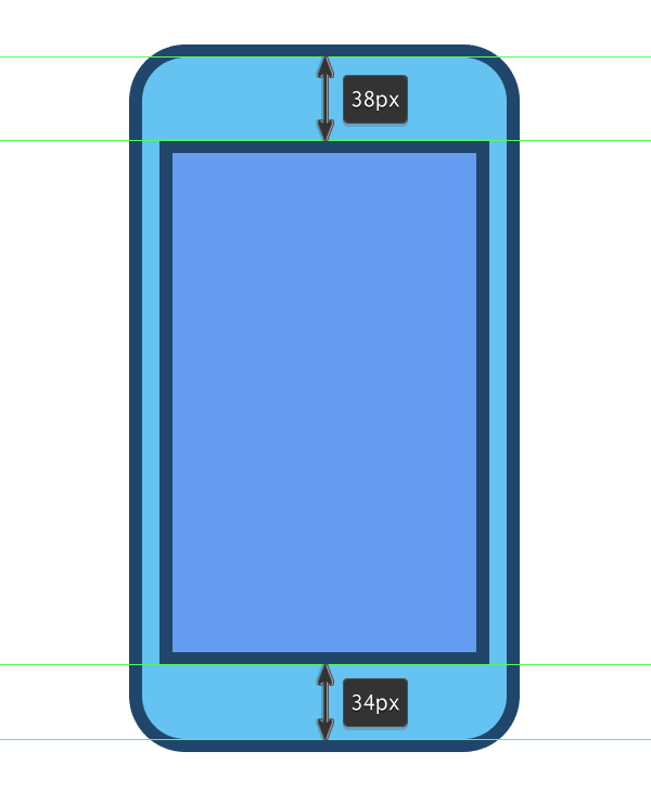 adding the screen to the phone