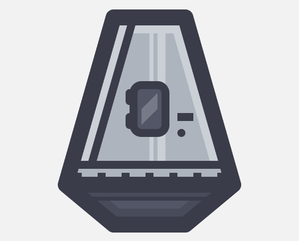 adding details to the lower section of the landing pod