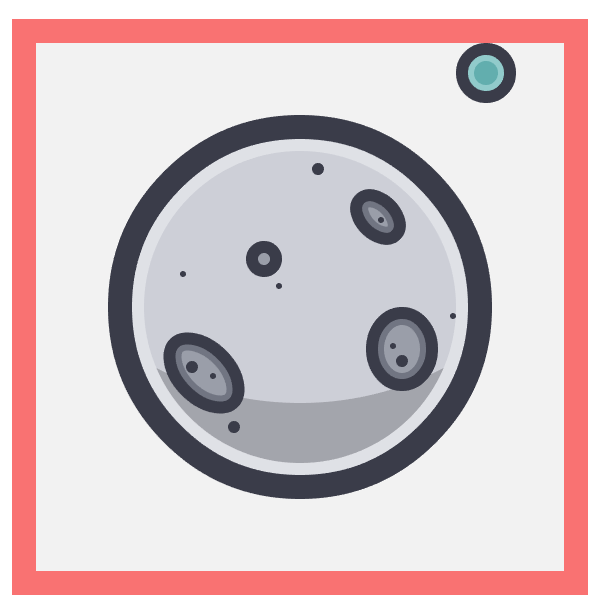 creating the earth planet for the moon