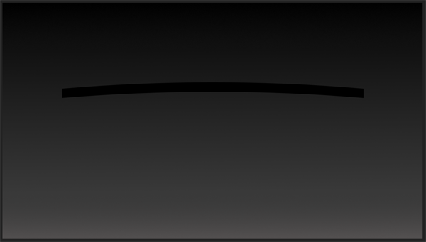Long curved rectangle