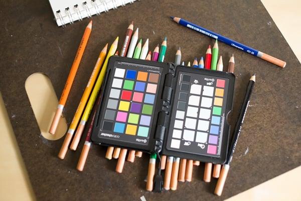 Using a ColorChecker in the studio