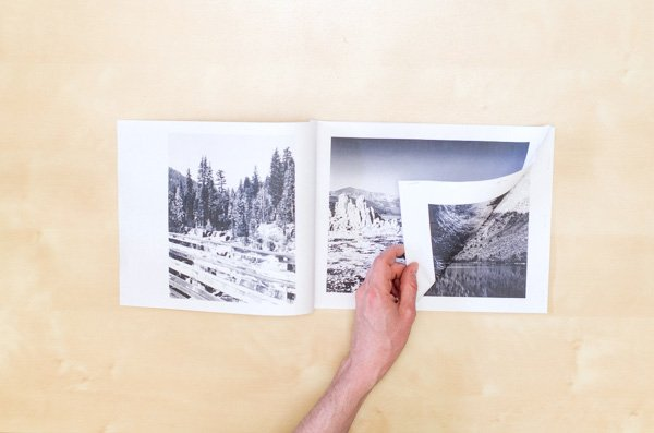 A finished photo book mock-up