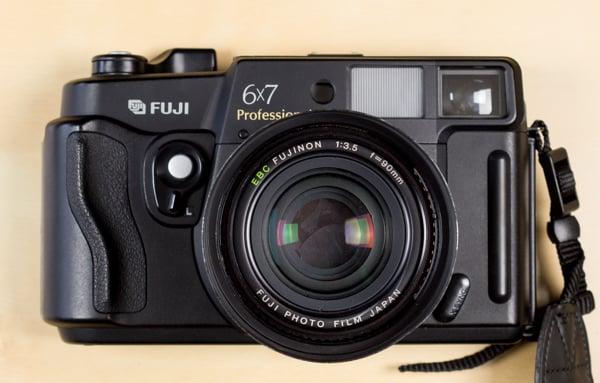 Fuji GW670III medium format rangefinder