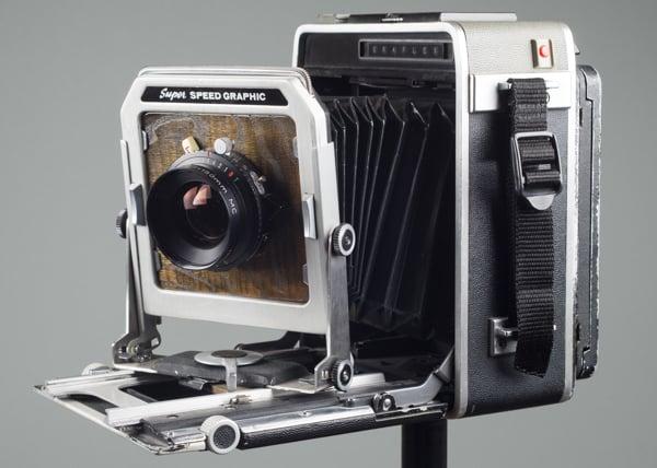 Graflex Super Speed Graphic large format camera