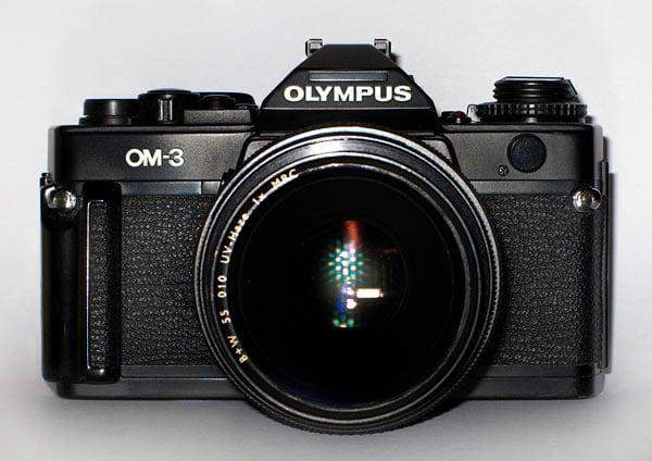 Olympus OM-3 film SLR camera