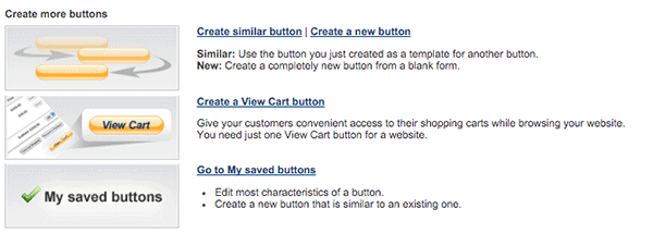 Saved Buttons