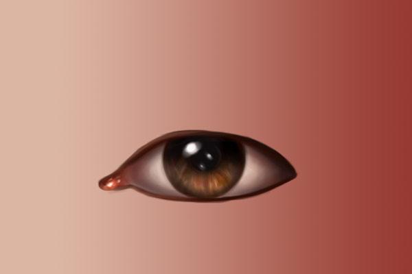 Eye outlines