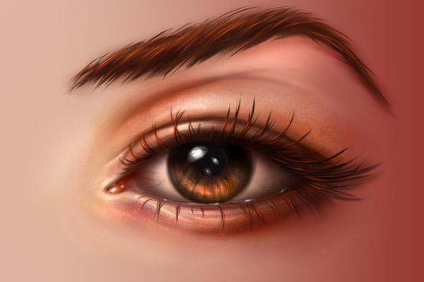 Eyebrows blending