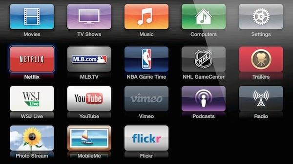 Netflix on the Apple TV