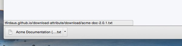 the html download procedure