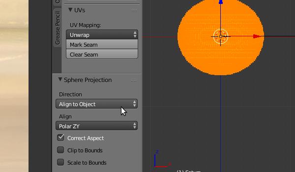 UV unwrapping Saturn