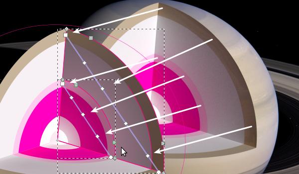 Sampling linear gradient colors
