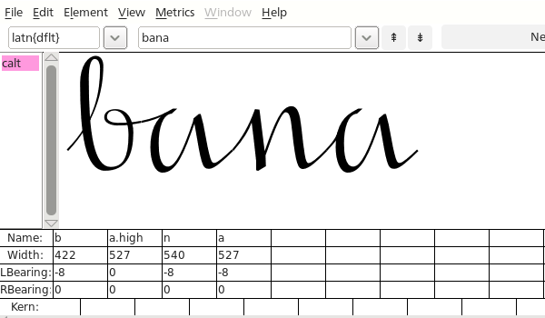 testing the font