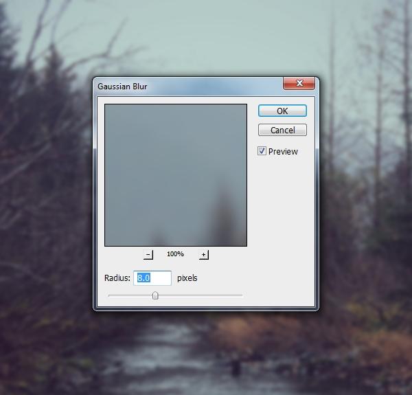 landscape 1 gaussian blur
