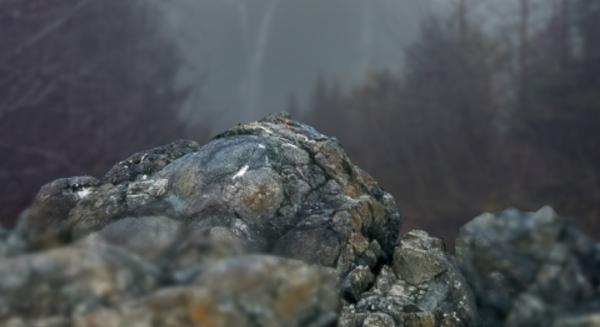 rock gaussian blur result